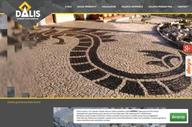 PPHU ''Dalis'' Daniel lisowski - Obrzeża Granitowe Strzegom