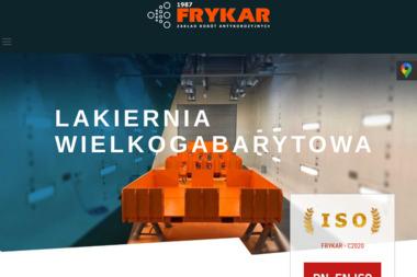 """Zakład Robót Antykorozyjnych """"FRYKAR"""" - Firma Remontowa Bytom"""