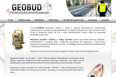 GEOBUD Geodezja Budownictwo Nieruchomości - Kierownicy Budowy Nowy Dwór Mazowiecki