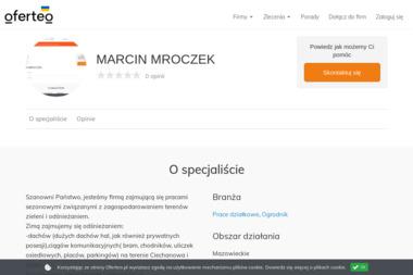 MARCIN MROCZEK - Prace działkowe Ciechanów