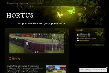 HORTUS projektowanie, pielęgnacja i zakładanie ogrodów - Ogrodnik Stawiguda