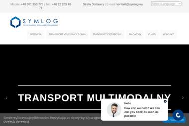 Symlog Sp. z o.o. - Transport międzynarodowy Warszawa