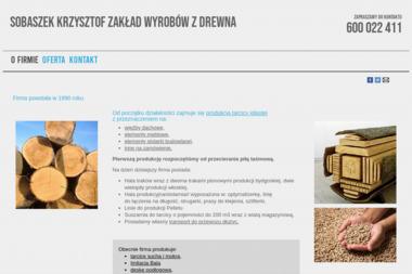 Zakład wyrobów z drewna - Domy z bali Biłgoraj