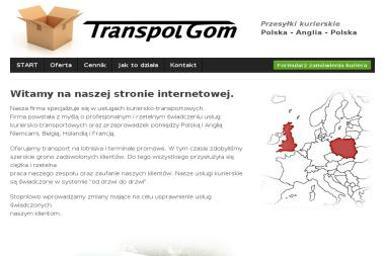 Transpolgom - Transport Towarów Krzepice