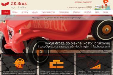 ZKBRUK - Układanie kostki granitowej Kraków