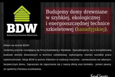 Budownictwo Drewniane Wzkończenia - Domy Parterowe Mysłowice