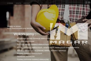 MAGAR Artur Zalewski - Projektant instalacji elektrycznych Świątniki Górne