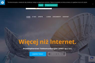 Przedsiębiorstwo Telekomunikacyjne Lanet Sp. Z o.o. - Dostawcy internetu, usługi telekomunikacyjne Warszawa
