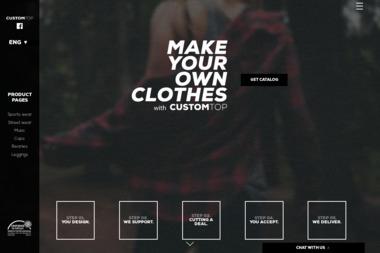 CustomTop.eu - Nadruki na odzieży Chorzów