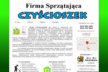 """Firma Sprzątająca Bożena Szeremeta """"Czyścioszek"""" - Ocieplanie budynków Orły"""