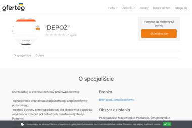 """""""DEPOŻ"""" - Firma audytorska Zamość"""