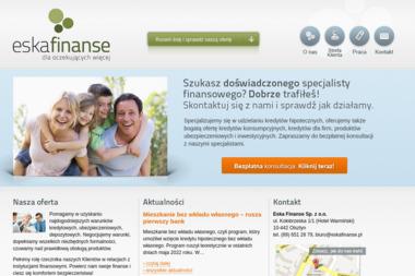 Eska Finanse Sp. z o.o. - Kredyt hipoteczny Olsztyn