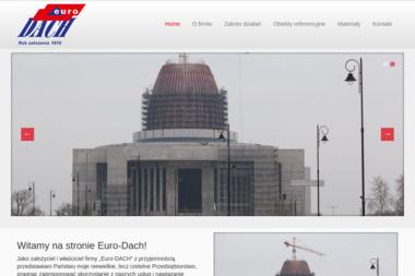 """PPH """"Euro-DACH"""" Józef Klimczuk - Czyszczenie Dachówki Piaseczno"""