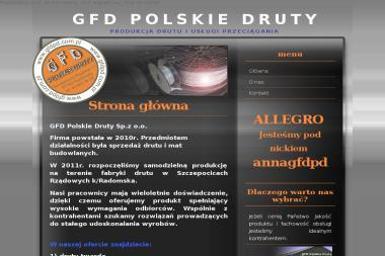 GFD Polskie Druty Sp. z o.o. - Ogrodzenie Siatkowe Radomsko