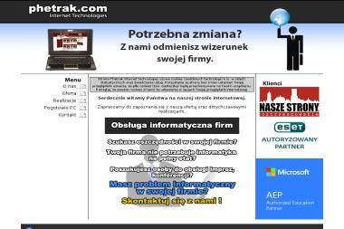 Phetrak Internet Technologies Tomasz Połomski - Pozycjonowanie stron Ostrzeszów