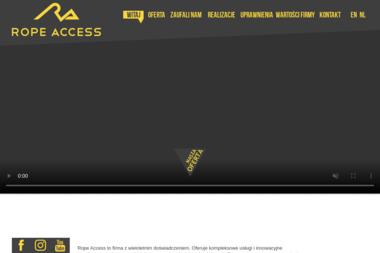 Usługi wysokościowe Rope Access - Energia odnawialna Limanowa