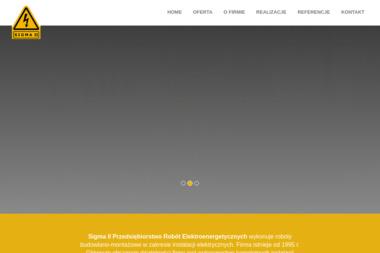 SIGMA II Przedsiębiorstwo Robót Elektroenergetyczh - Ogrodzenia panelowe Wrocław