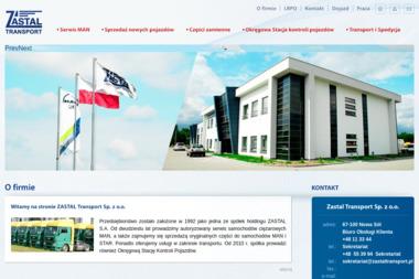 Zastal Transport Sp. z o.o. - Transport międzynarodowy Zielona Góra