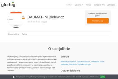 BAUMAT- M.Bielewicz - Malowanie Mieszkań Sztum