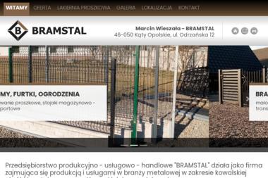 Marcin Wieszała BRAMSTAL - Wykonanie Konstrukcji Stalowej Tarnów Opolski
