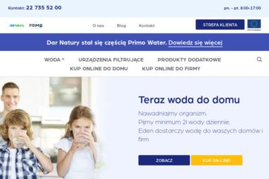 Nestle Waters Polska - Dostawy wody Warszawa