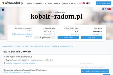 KOBALT Wilkowski Mariusz - Budowa dróg Gózd