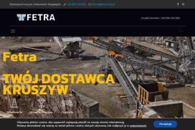 Fetra sp. z o.o. - Przekrusz Betonowy Warszawa
