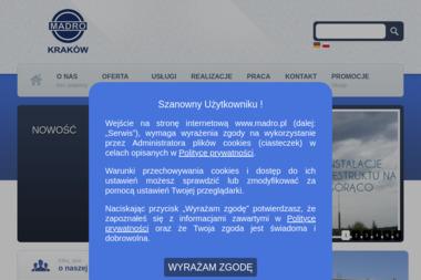 MADRO KRAKÓW SP. Z O.O. - Hale Stalowe Niepołomice