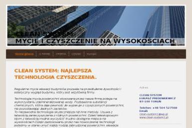 CLEAN SYSTEM ŁUKASZ PREDENKIEWICZ - Mycie dachów Toruń