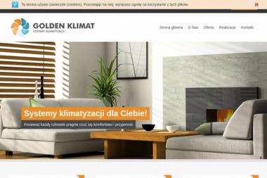 Firma Handlowo-Usługowa 'Golden Klimat', Przemysław Gołdyn - Klimatyzacja Syców
