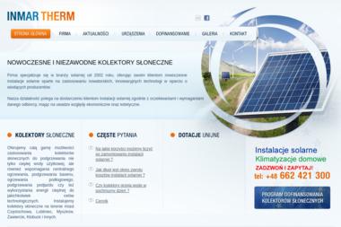 INMAR Therm - Kolektory słoneczne Częstochowa