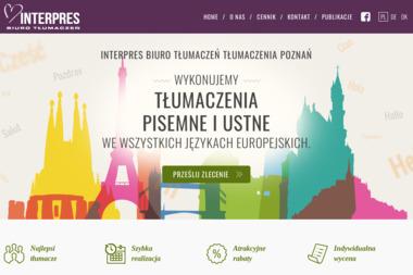 Biuro Tłumaczeń INTERPRES - Biuro Tłumaczeń Poznań