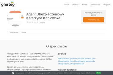 Agent Ubezpieczeniowy Katarzyna Kaniewska - Ubezpieczenia OC Kraków