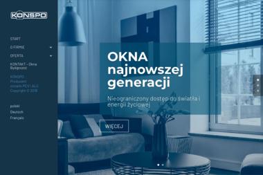 P.W.KONSPO sp.j M.Latos i Z.Gliniecki - Rolety zewnętrzne Bydgoszcz