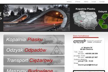 Transport Ciężarowy Mariusz Grzyb - Konstrukcje stalowe Bierutów