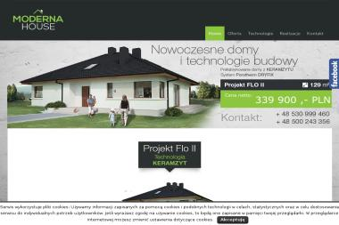 MODERNA-HOUSE Paweł Łuć - Domy z keramzytu Lublin