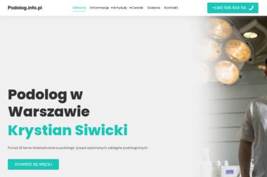 Leczniczy gabinet pielęgnacji nóg - Prywatne kliniki Warszawa