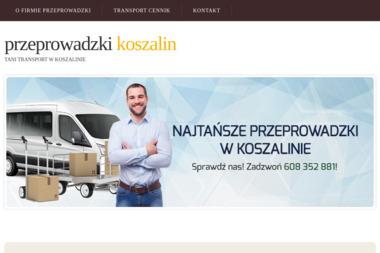 Usługi transportowe Przeprowadzki Koszalin - Przewóz Mebli Koszalin