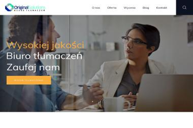 Original Solutions - Tłumaczenia dokumentów Warszawa