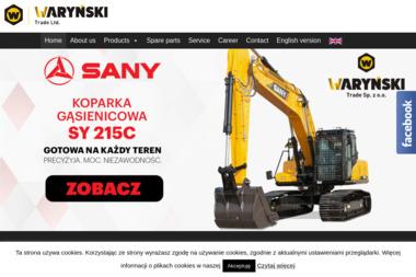 WARYŃSKI TRADE Sp. z o.o. - Minikoparki używane Warszawa
