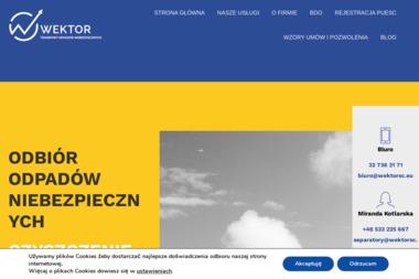 Wektor A. Chudak Spółka Jawna - Ochrona środowiska Katowice