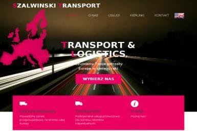Szalwinski Transport - Transport Bagażowy Międzynarodowy Koszalin