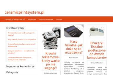 Ceramic Print System - Architekt wnętrz Marki