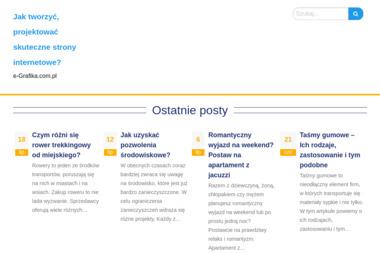 E-grafika Edyta Karska - Strony internetowe Zwierzyniec