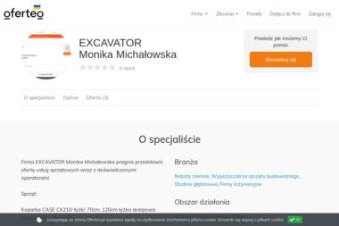 EXCAVATOR Monika Michałowska - Studnie głębinowe Opole