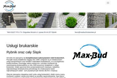 MAX-BUD P.P.U.T.H BOGUSŁAW MROZEK - Roboty ziemne Rybnik