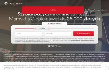Profi credit - Pożyczki bez BIK Bielsko-Biała
