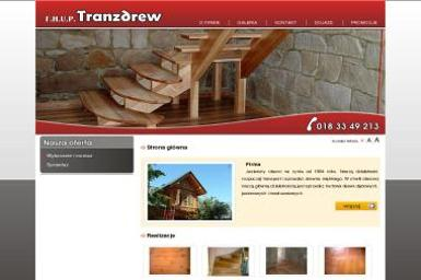 F.H.U.P. TRANZDREW - Domek Holenderski z Tarasem Mszana Dolna
