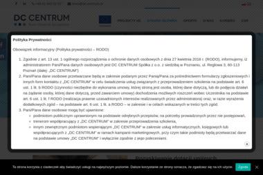 DC CENTRUM Biuro Wsparcia Zarządzania - Obsługa prawna firm Poznań