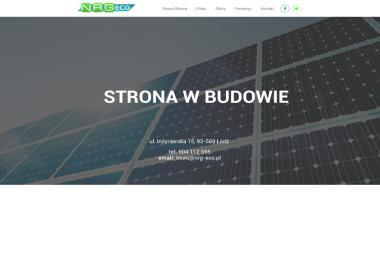 NRG-eco Sp. z o.o. - Solary do Ogrzewania Wody Łódź